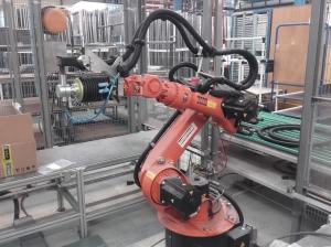 Robot de ponçage